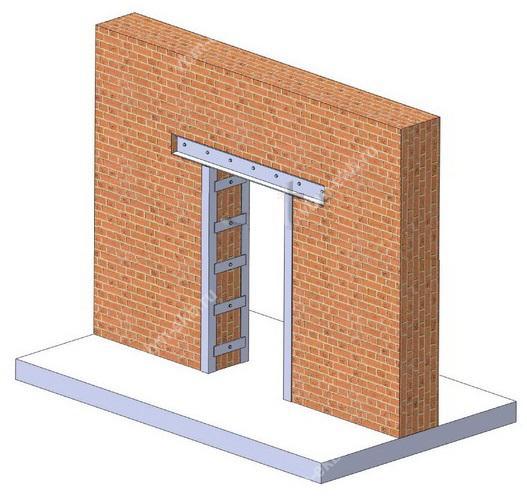Устройство проемов в несущей стене